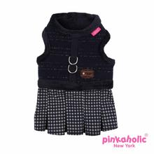 Sassy Flirt Dog Harness by Pinkaholic - Navy