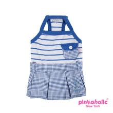 Sea Cadet Dog Dress by Pinkaholic - Blue