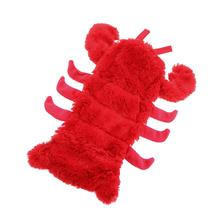 Sea Life Plush Bottle Dog Toy - Lobster