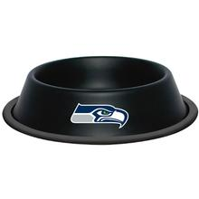 Seattle Seahawks Dog Bowl - Black