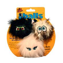 Silly Squeakers Dog Toys - iBalls 3pk