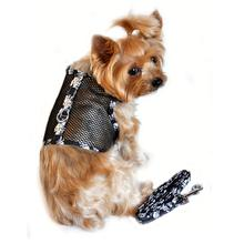 Skull Cool Mesh Dog Harness by Doggie Design