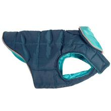 Skyline Puffy Reversible Dog Vest  - Legion Blue/Teal