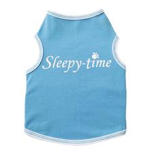 Sleepy-Time Dog Tank - Light Blue