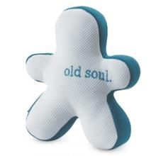 Slobber-Wick Old Soul Squeaky Buddy Dog Toy by Planet Dog