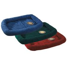 Slumber Pet Sherpa Crate Bed - Forest Green