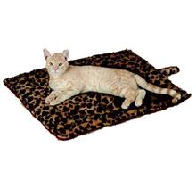 Slumber Pet Thermal Cat Mat - Brown Leopard