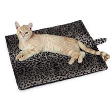 Slumber Pet Thermal Cat Mat - Gray Leopard