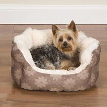 Slumber Pet Uptown Lounger - Beige Flowers