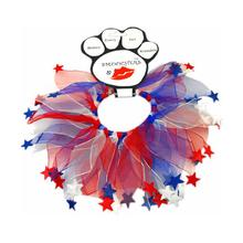 Smoochers Pet Scrunchie - Patriotic Stars