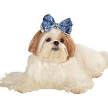 Snowflake Dog Hair Bow