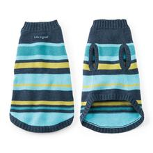 Snuggle Up Dog Sweater - Surfer Stripe