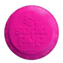 SodaPup Bottle Top Flyer Dog Toy - Puppy Pink