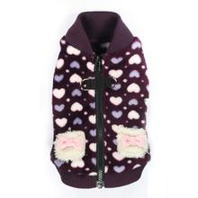 Soft Purple Heart Dog Vest by Hip Doggie