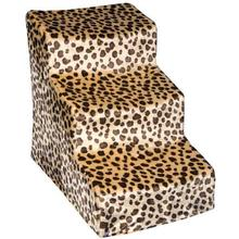 Soft Step Covered Pet Stairs - Jaguar