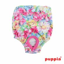 Spring Garden Dog Sanitary Pants by Puppia - Pink