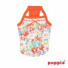 Spring Garden Dog Tank by Puppia - Orange