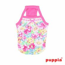 Spring Garden Dog Tank by Puppia - Pink