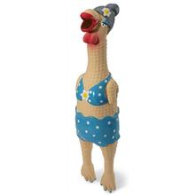 Squawker's Family Dog Toy - Grandma Hippie Chick