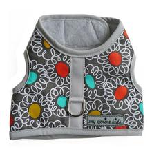 Squiggle Dot Print Dog Vest Harness