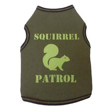 Squirrel Patrol Dog Tank - Green