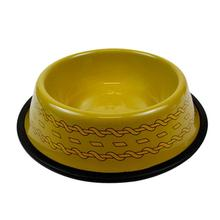 Star Trek Uniform Dog Bowl - Gold