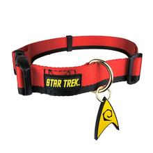 Star Trek Uniform Dog Collar - Red