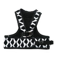 Step Easy Adjustable Dog Harness - Graphic and Black