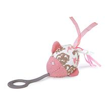 Stretch & Chase Launcher Cat Toy by Kathy Ireland - Pink Fish