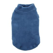 Stretch Fleece Dog Vest by Gooby - Steel Blue