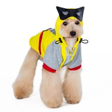 Super Hero Dog Sweatshirt by Dogo - Yellow