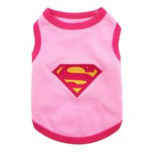 Supergirl Dog Tank by Parisian Pet - Pink