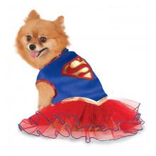 Supergirl Tutu Dog Dress