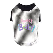 Sweet Baby Dog Shirt by Pinkaholic - Navy