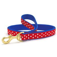 Swiss Dot Dog Leash by Up Country