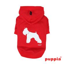 Tailwagger Dog Hoodie by Puppia - Red