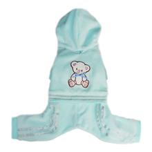 Teddy Dog Jumper - Blue