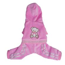 Teddy Dog Jumper - Pink