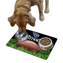 Tennessee Titans Pet Bowl Mat