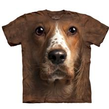 The Mountain Human T-Shirt - American Cocker Spaniel Face