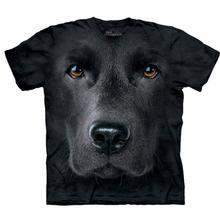 The Mountain Human T-Shirt - Black Lab Face