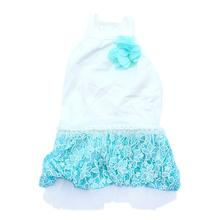 Tiffany Dog Dress by Parisian Pet - Blue