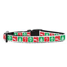 Timeless Christmas Nylon Safety Cat Collar