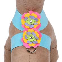 Tinkie Dog Harness Fantasy Flower by Susan Lanci - Tiffi Blue