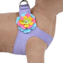 Tinkie Fantasy Flower Step-In Dog Harness by Susan Lanci - Lavender