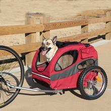 Houndabout Pet Bicycle Trailer by Solvit - Medium