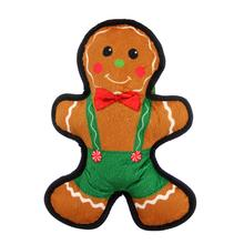 Tuff Enuff Dog Toy - Gingerbread