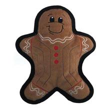 Tuff One Holiday Gingerbread Man Dog Toy