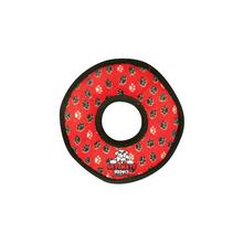 Tuffy Dog Toys - Ultimate Ring Red Paw Print