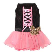 Tutu-Riffic Dog Dress by Dogs of Glamour - Hot Pink